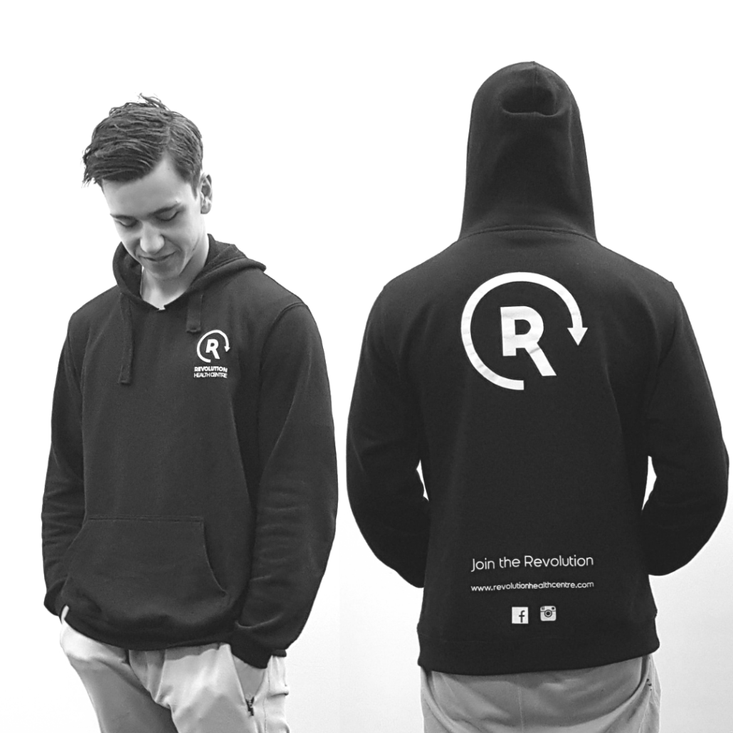 Lachy Moran modelling hoodies revolution health centre massage colac camperdown